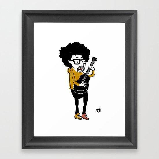 001_bass Framed Art Print