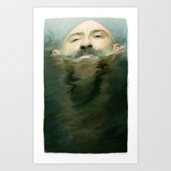 afloat Art Print