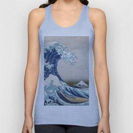 Under the Wave off Kanagawa - The Great Wave - Katsushika Hokusai Unisex Tank Top