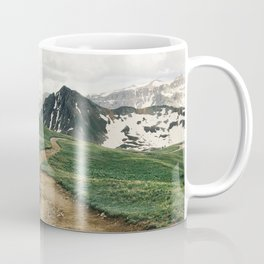 Colorado Mountain Road Coffee Mug