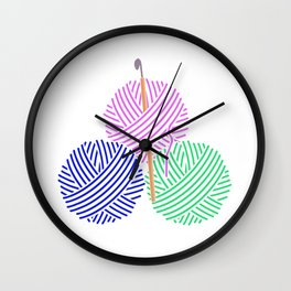 Crochet Wall Clock
