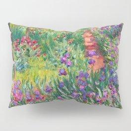 Claude Monet - The Iris Garden At Giverny Pillow Sham
