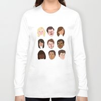 parks Long Sleeve T-shirts featuring Parks and Rec by Emma Ehrling