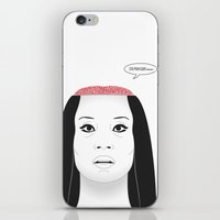 carnage iPhone & iPod Skins featuring THE FLOWER OF CARNAGE - KILL BILL - MEIKO KAJI by Mirco Greselin