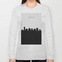 City Skylines: Memphis Long Sleeve T-shirt