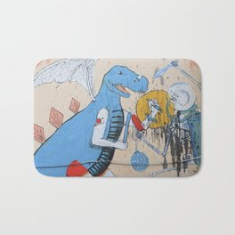 When Dinosaurs Fly Bath Mat