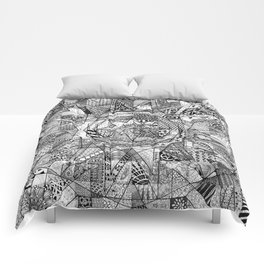 Mandala 3 Comforters