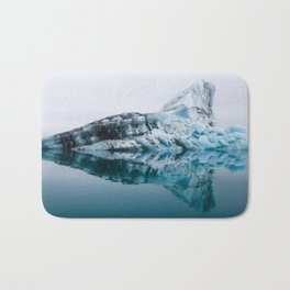 Jökulsárlón Glacier Lagoon Bath Mat