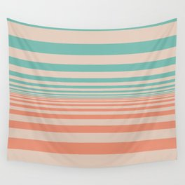 Pale Horizon Wall Tapestry