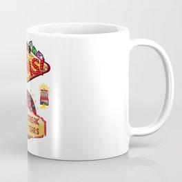 Las Vegas 15th Wedding Anniversary Gift Lucky Streak For 15 Years Coffee Mug