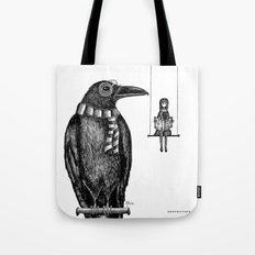 Ronald + Regina -or- The Tiny Poe Aficionados Tote Bag