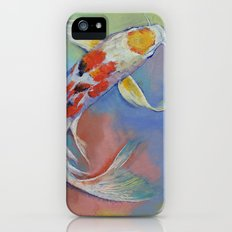 Butterfly Koi Fish Slim Case iPhone (5, 5s)