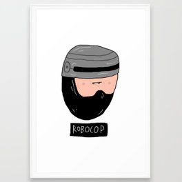 ROBOCOP Framed Art Print
