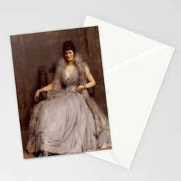 James J. Shannon - Portrait of Cecilia Tower Stationery Cards