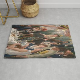 Pierre-Auguste Renoir's Luncheon of the Boating Party Rug