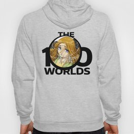 Erin from 'The 100 Worlds. 26' (black logo) Hoody