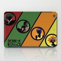cowboy bebop iPad Cases featuring Bebop Team by AngoldArts