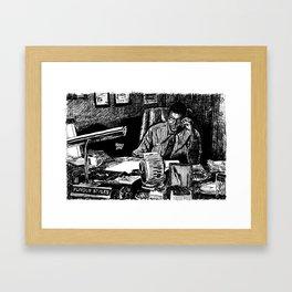 Furious Styles, Boyz In The Hood, Laurence Fishburne Framed Art Print