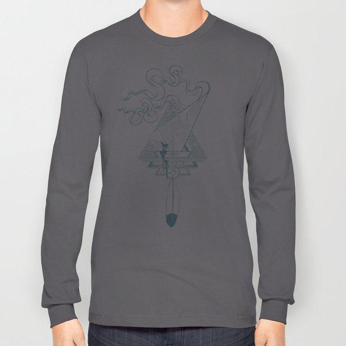Star Catcher V01 (Black Outline) Long Sleeve T-shirt