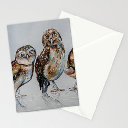 Company of owls Stationery Cards