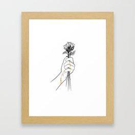 Precious love Framed Art Print