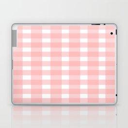 Pink Gingham Design Laptop & iPad Skin
