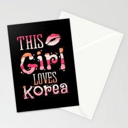 This Girl Loves Korea Oppa Kpop Kdrama Stationery Cards