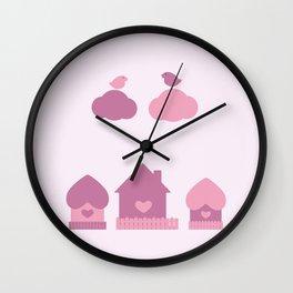 Love is everywhere Wall Clock
