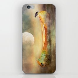 By the Light of the Crow Moon iPhone Skin