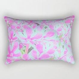 Peppermint Twist Garden Phlox Petals Rectangular Pillow