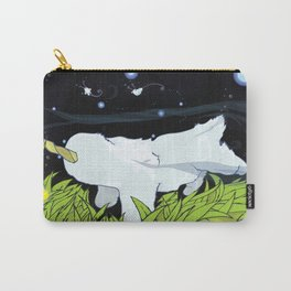 chasing apple spores Carry-All Pouch