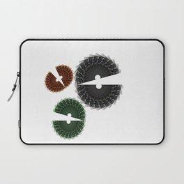 Abstract Chomp Laptop Sleeve