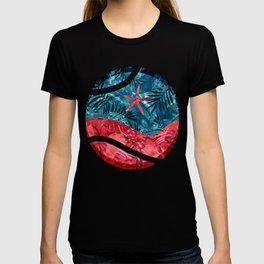 Summer Beach Tropical Pattern T-shirt