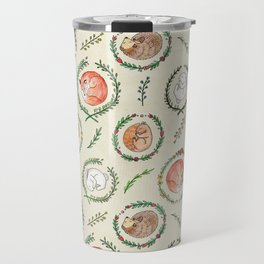 Hygge Forest Animals Travel Mug