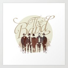 THE BAND Art Print