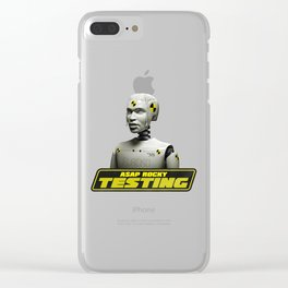 Testing - ASAP Rocky Clear iPhone Case