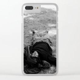 Park Man Clear iPhone Case