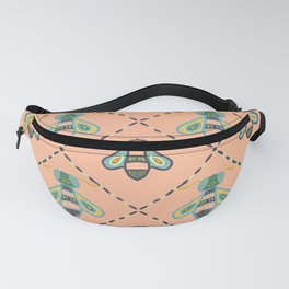 Cute colorful bee pattern Fanny Pack