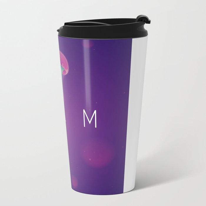 C A L M Metal Travel Mug
