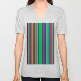 Re-Created Channels xvii Unisex V-Neck