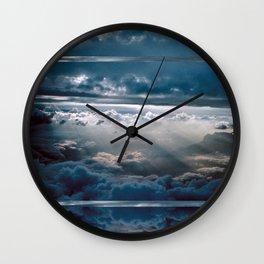 CLOUD NINE/FLY HIGH - feeling zero gravity Wall Clock