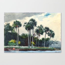Red Shirt, Homosassa, Florida Canvas Print