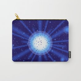blue light effect Carry-All Pouch