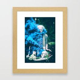 Vampire Flower (Edit 5) Framed Art Print