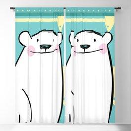 Polar Bear Blackout Curtain