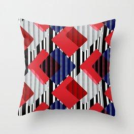 Geometric pattern. Throw Pillow
