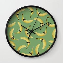 Mister Banano Wall Clock