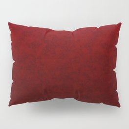 Red marble Pillow Sham