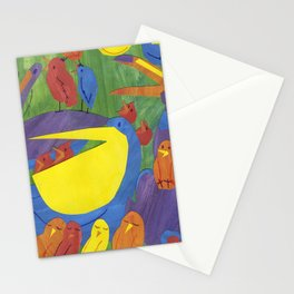 There was an old man, on whose nose,  Most birds of the air could repose. Stationery Cards