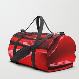 Cherry Syrup on Ice Cream Duffle Bag